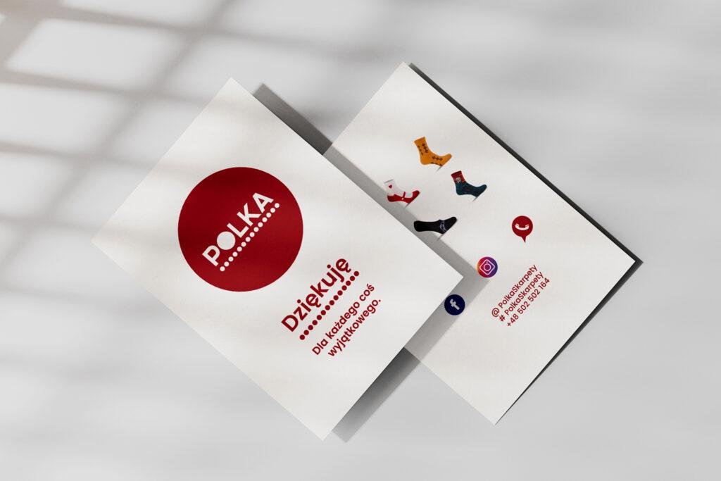 Botega Studio - Fotografia produktowa - Skarpetki Polka